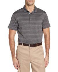 Bobby Jones - Gray R18 Tech Static Stripe Polo for Men - Lyst