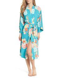Natori - Blue Saipan Robe - Lyst