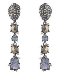 Alexis Bittar - Metallic Elements Linear Earrings - Lyst