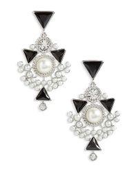 Givenchy - Metallic Chelsea Drop Earrings - Lyst