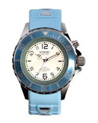 Kyboe - Blue ! Silicone Strap Watch - Lyst