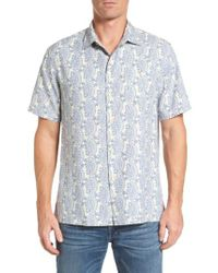Tommy Bahama | Blue Paisley Days Woven Shirt for Men | Lyst