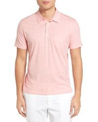 Zachary Prell   Gray Breve Jersey Polo for Men   Lyst