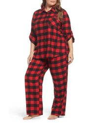 Make + Model   Red Flannel Pajamas   Lyst