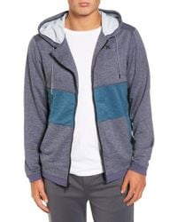 Hurley - Multicolor Dri-fit Disperse Colorblock Zip Hoodie for Men - Lyst