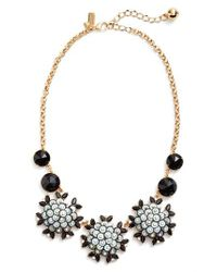 Kate Spade - Black Be Bold Statement Collar Necklace - Lyst