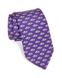 Vineyard Vines | Purple 'baltimore Ravens - Nfl' Woven Silk Tie for Men | Lyst