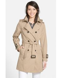 London Fog   Natural Heritage Trench Coat With Detachable Liner   Lyst