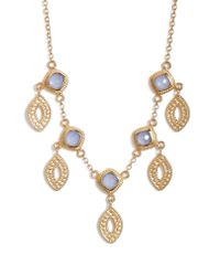 Anna Beck - Metallic Charm Necklace - Lyst