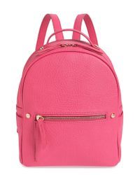 MALI AND LILI Pink Mali + Lili Hannah Vegan Leather Backpack