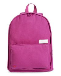 State Bags - Slim Lorimer Water Resistant Canvas Backpack - Purple - Lyst