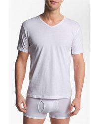 Emporio Armani | 3-pack T-shirt, White for Men | Lyst