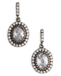 Freida Rothman - Metallic Opera Drop Earrings - Lyst
