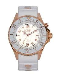 Kyboe - White ! Silicone Strap Watch - Lyst