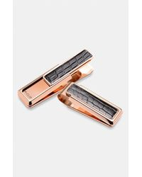 M-clip | Pink M-clip 'new Yorker Alligator' Money Clip - Metallic for Men | Lyst