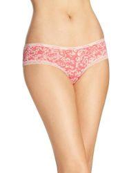 Calvin Klein | Red 'bottoms Up' Hipster Briefs | Lyst