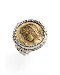 Konstantino - Metallic 'demeter' Coin Ring - Lyst