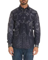 Robert Graham - Blue The Cooley Limited Edition Classic Fit Sport Shirt for Men - Lyst
