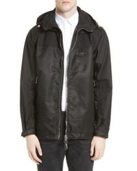 Givenchy | Black Technical Cotton Windbreaker for Men | Lyst