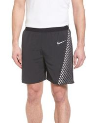 Nike Black Running Flex Distance Shorts for men