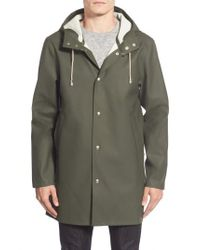 Stutterheim | Green Stockholm Waterproof Hooded Raincoat for Men | Lyst