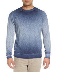 Tommy Bahama - Blue 'santiago' Ombre Crewneck Sweatshirt for Men - Lyst
