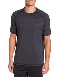 Zella   Black Celsian Moisture Wicking Pocket T-shirt for Men   Lyst