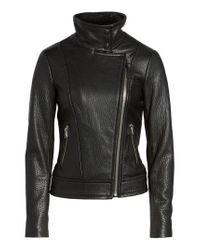 Mackage - Black Lisa Signature Leather Jacket - Lyst