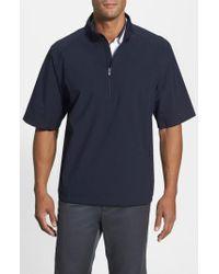Cutter & Buck - Blue 'weathertec Summit' Short Sleeve Shirt for Men - Lyst