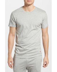 Polo Ralph Lauren | Gray Crewneck T-shirt for Men | Lyst