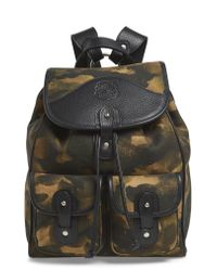Ghurka Multicolor Blazer Canvas Backpack