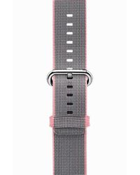 Casetify - Pink Nylon Apple Watch Strap for Men - Lyst