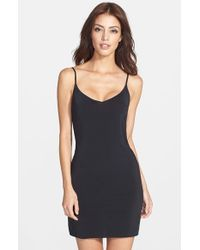Yummie By Heather Thomson - Black Della A-line Slip - Lyst