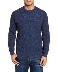 Tommy Bahama - Blue Medina Marl Cotton Sweater for Men - Lyst