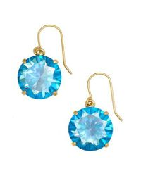 Kate Spade - Blue 'shine On' Drop Earrings - Lyst