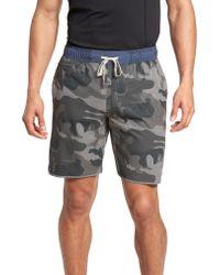vuori - Gray Banks Performance Hybrid Shorts for Men - Lyst
