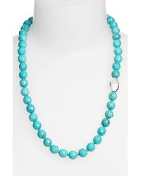 Simon Sebbag | Blue Stone Beaded Necklace | Lyst