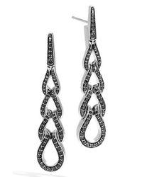 John Hardy | Metallic Classic Chain Long Drop Earrings | Lyst