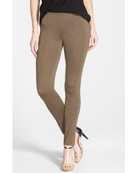 NIC+ZOE | Green 'the Perfect Ponte' Pants | Lyst
