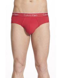 Calvin Klein | Red Air Fx Low Rise Briefs for Men | Lyst