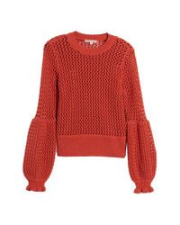 Rebecca Minkoff Red Bianca Sweater