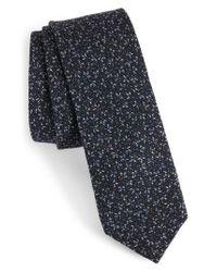 Ted Baker - Blue Print Wool Tie for Men - Lyst