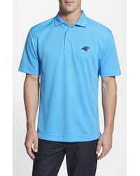 Cutter & Buck - Blue 'carolina Panthers - Genre' Drytec Moisture Wicking Polo for Men - Lyst