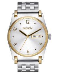 Nixon - Metallic 'jane' Bracelet Watch for Men - Lyst