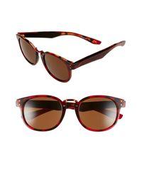 Nike - Brown 'achieve' 52mm Sunglasses - - Lyst