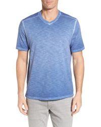 Tommy Bahama - Blue Suncoast Shores V-neck T-shirt for Men - Lyst