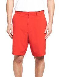 Cutter & Buck | Red 'bainbridge' Drytec Shorts for Men | Lyst