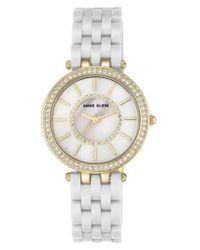 Anne Klein | Metallic Bracelet Watch | Lyst