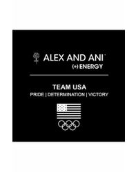 ALEX AND ANI | Metallic 'team Usa - Ice Skate' Expandable Wire Bangle | Lyst
