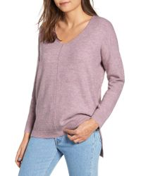 Dreamers By Debut - Pink Front Seam Pullover - Lyst